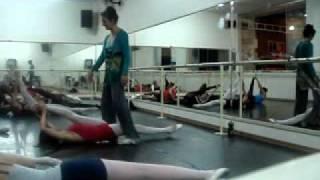 Alongamento para bailarinas =)