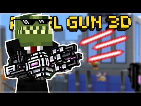 OVERPOWERED CASANOVA LVL 3 SILENCER! & LASER MINIGUN DESTRUCTION | Pixel Gun 3D