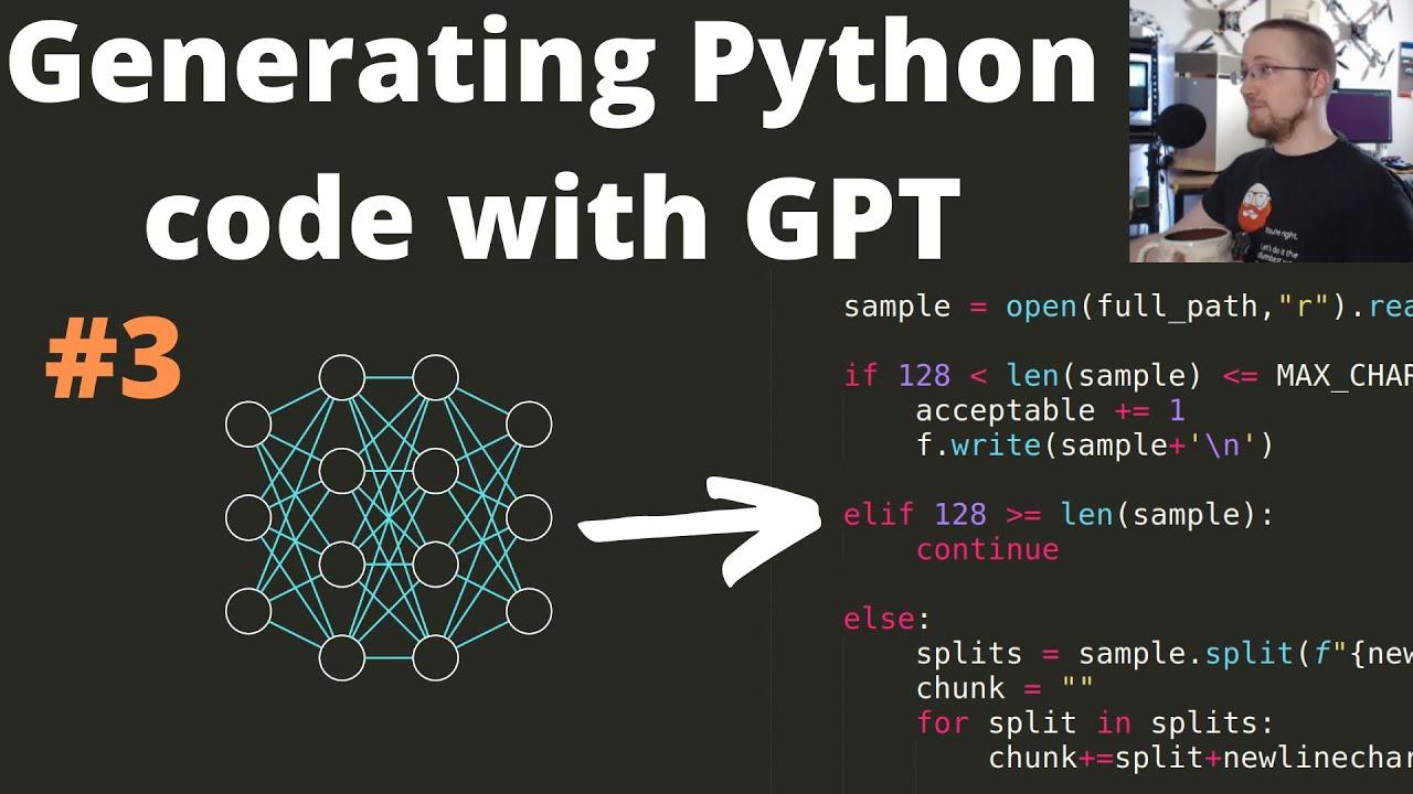 Generative Python Transformer P.3 - Preprocessing Dataset