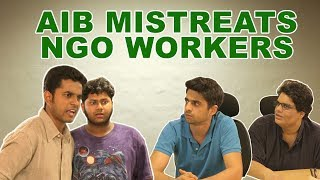 Tanmay Bhat and Rohan Joshi throw NGO workers out of AIB