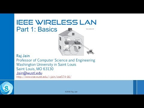 IEEE 802.11 Wireless LANs Revisited- Part 6: IEEE 802.11 Architecture