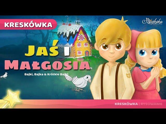 Jaś i Małgosia bajka dla dzieci po Polsku - Bajki dla dzieci Keskowka
