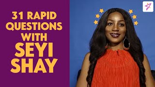 Seyi Shay Answers 31 Rapid Fire Questions On Everything + A Quick Tiwa Savage Shade