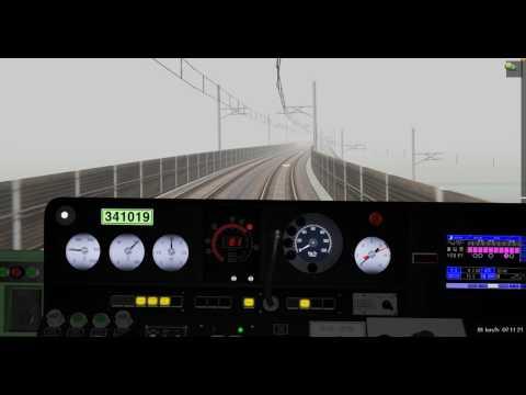 Train simulator BVE5 South Korea Oido Subway Line 4/ 당고개역~오이도역(4호선)