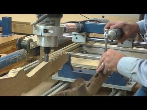 3D CNC gunstock carving | FunnyDog.TV
