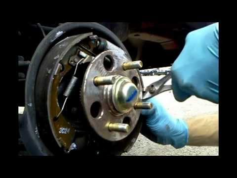 Fixing A Rear Brake Squeak Youtube