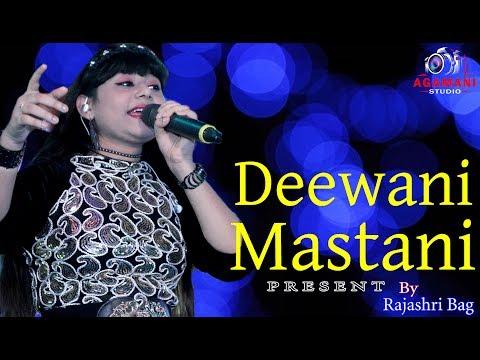 Deewani Mastani // Bajirao Mastani || Live Singing By Rajashri Bag