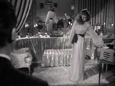 Rita Hayworth in Gilda  first appearance in the movie complete