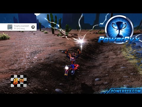 Crash Bandicoot 3: Warped - Road Crash Secret Exit (UFO Xing Trophy Guide)