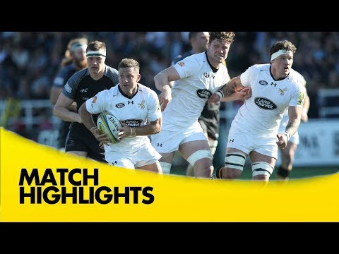 Newcastle Falcons v Wasps - Aviva Premiership Rugby 2017-18