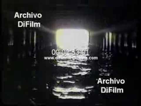 DiFilm - Imágenes de los tuneles del arroyo Maldonado (1985)
