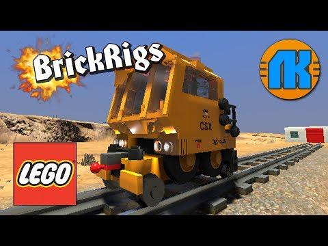 КРУТАЯ МОБИЛЬНАЯ ДРЕЗИНА TRACKMOBILE 4350M В Brick Rigs \ СКАЧАТЬ БРИК РИГС !!!
