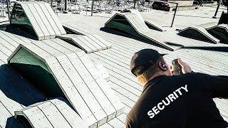 EXTREMELY ILLEGAL SECRET SKATE SPOT!!!