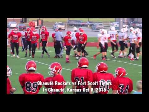 Chanute Rockets 8th Football Grade vs Ft Scott Oct 8, 2015