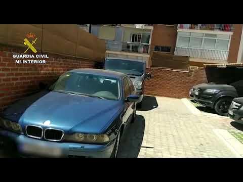 La Guardia Civil desarticula una organización criminal que adquiría fraudulentamente vehículos