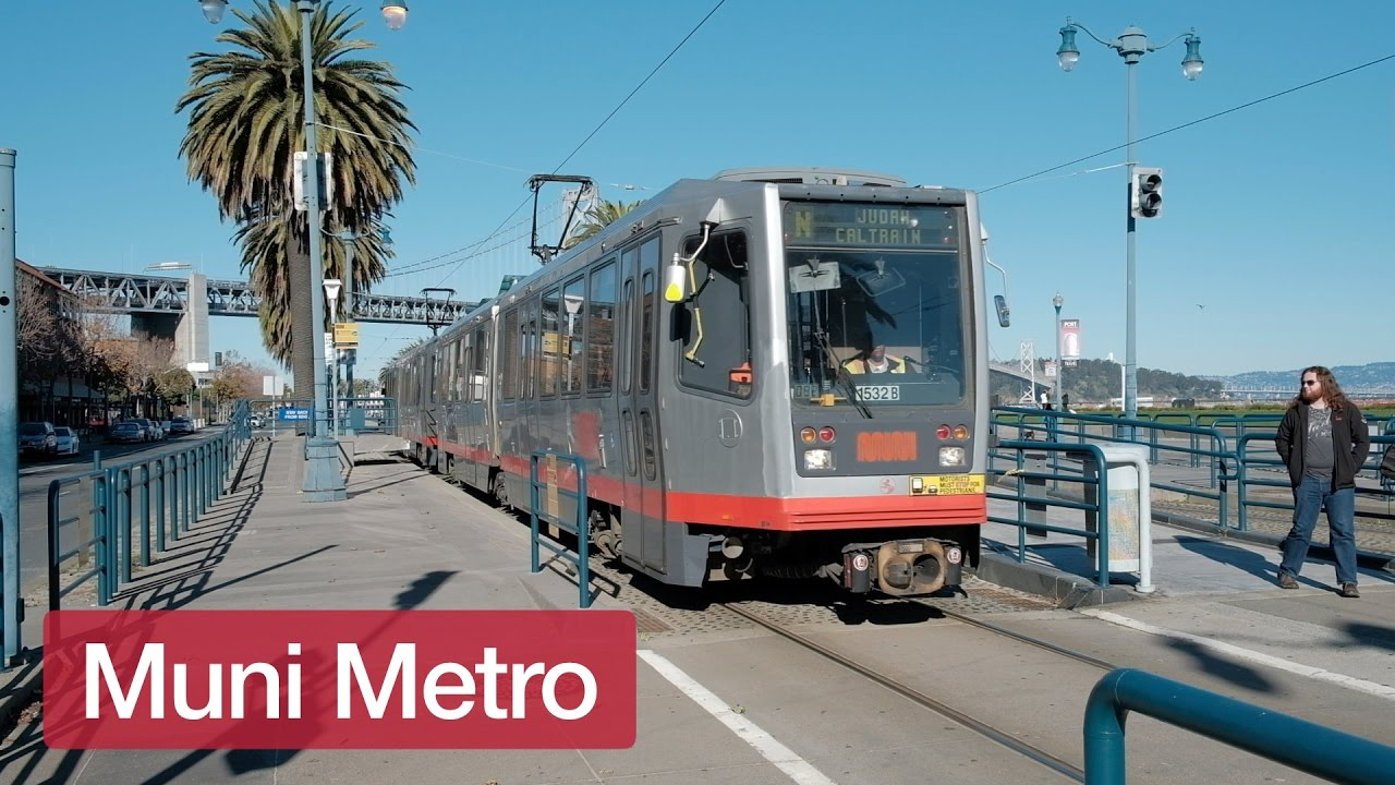 San Francisco Muni Metro Map.San Francisco Muni Metro Trains In Winter Youtube