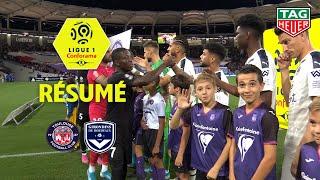Toulouse FC - Girondins de Bordeaux ( 1-3 ) - Résumé - (TFC - GdB) / 2019-20