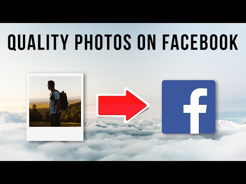 Upload High Quality Photos On Facebook | Photoshop Tutorial