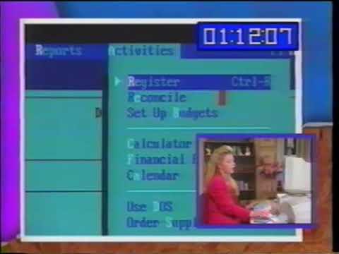 Download The Komputer Tutor: Quicken For DOS (1993) with Kim Komando