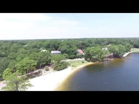 Niceville's Florida Boggy Bayou Aerial Video 2K  - DJI Phantom 3 -
