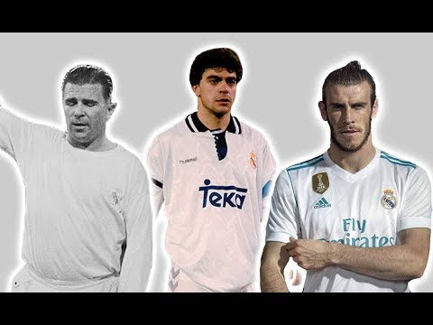 Real Madrid's Kits – Then And Now