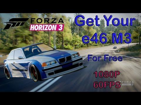 Forza Horizon 3 - Get Your BMW e46 M3 : NFS Mostwanted