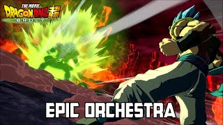 Cover images Broly Vs Gogeta - Dragon Ball Super Movie Epic Orchestra