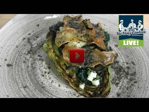 Michelin star chef Nigel and Kirk Howarth, cook a pot roast organic hispi cabbage recipe