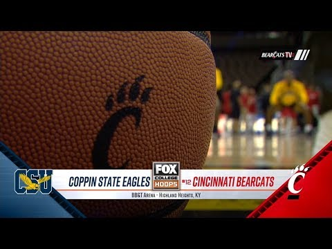 Men's Basketball Highlights: Cincinnati 97, Coppin State 54 (Courtesy Fox Sports Ohio)