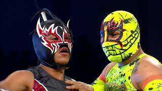 Astrolux y Aramis Vs Toxin y Latigo en Tehuacán | Lucha Libre AAA Worldwide