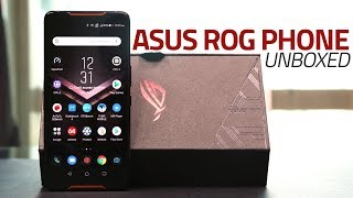 Asus ROG Phone Unboxing and First Look | What Comes Bundled With This Gaming Powerhouse?