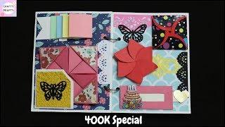 Scrapbook Tutorial/How to make Scrapbook/DIY Scrapbook Tutorial/Birthday Scrapbook Ideas/400kspecial