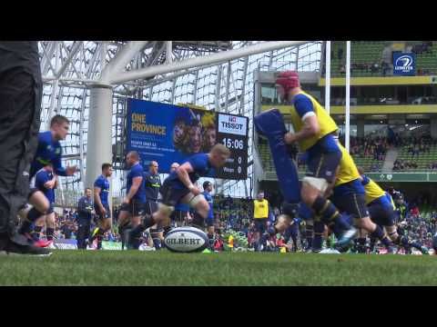Re-live all the action at AVIVA Stadium! | Leinster v Wasps