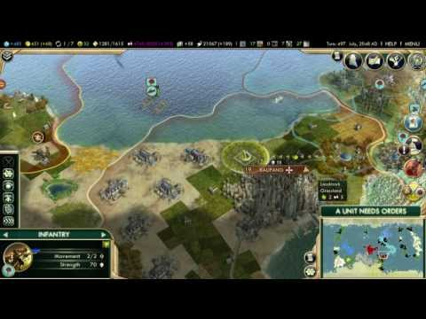 Let's Play Civilization V (Indonesia) - Part 42: Conquer Kaupang