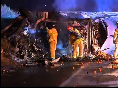 Accidente en Interestatal 5 provoca caos vehicular
