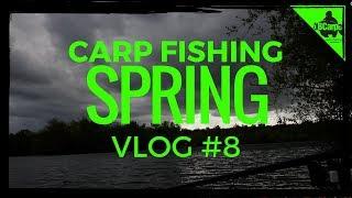 CARP FISHING IN SPRING - FISHING THE PARK LAKE - VLOG #8 😀