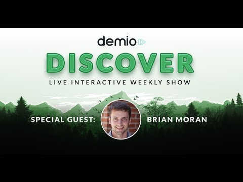 CEO Mistakes, Paid Traffic, & more with Brian Moran, CEO and Founder of SamCart - Demio Discover