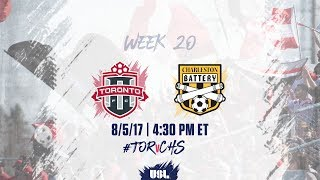 Toronto FC USL vs Charleston Battery full match