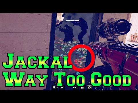 Jackal is WAY TOO GOOD - Rainbow Six Siege Velvet Shell