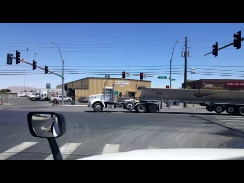 BigRigTravels LIVE! Mountain Pass, California to Las Vegas,  Nevada Interstate 15 North 6/29/17