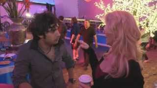 Kunal Nayyar and Mircea Monroe - Dr. Cabbie Set Visit - Out There Update