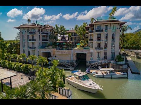 รอยัล ภูเก็ต มารีน่า   Royal Phuket Marina  Penthouse with  Boat Berth \u0026 360 Degree Sea Views