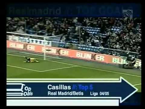 Top paradas de Iker Casillas.