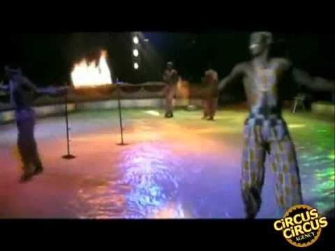 Circus Circus Agency Presents : Circus acrobats from Ghana  ( Artist id 45 )