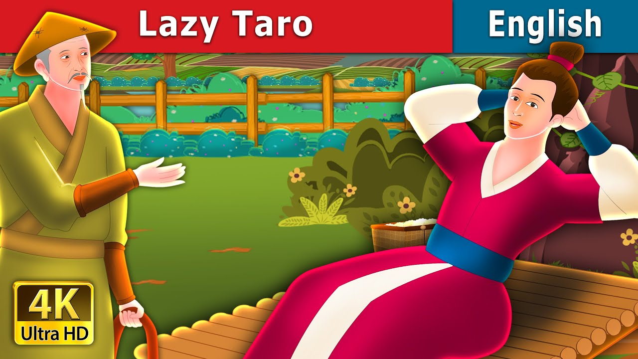 Lazy Taro Story in English | Stories for Teenagers | English Fairy Tales
