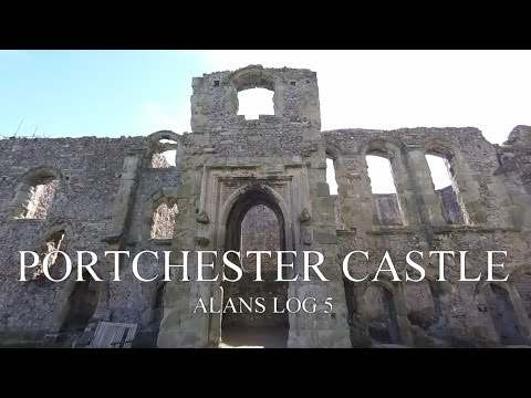ALANS LOG 5 portchester castle portsmouth uk