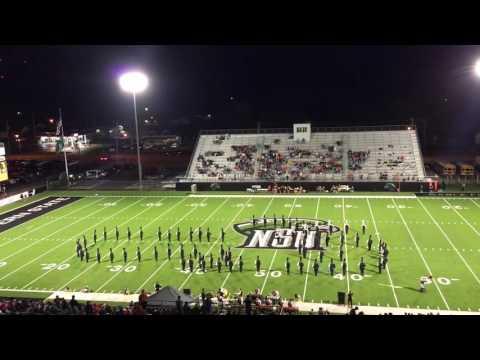 Tahlequah High School Orange Express halftime performance 9-16-16
