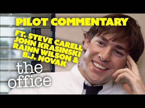 Pilot Episode Commentary | A Peacock Extra | The Office US