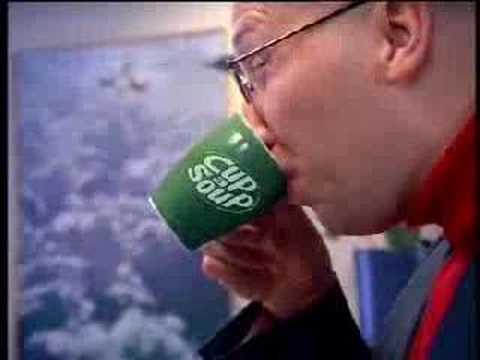 Cup a soup reclame Sjors ( Ruben van der Meer )