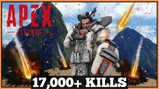Farewell Friday Finishers // 17,000+ Eliminations // Apex Legends Live // PS4 Gameplay
